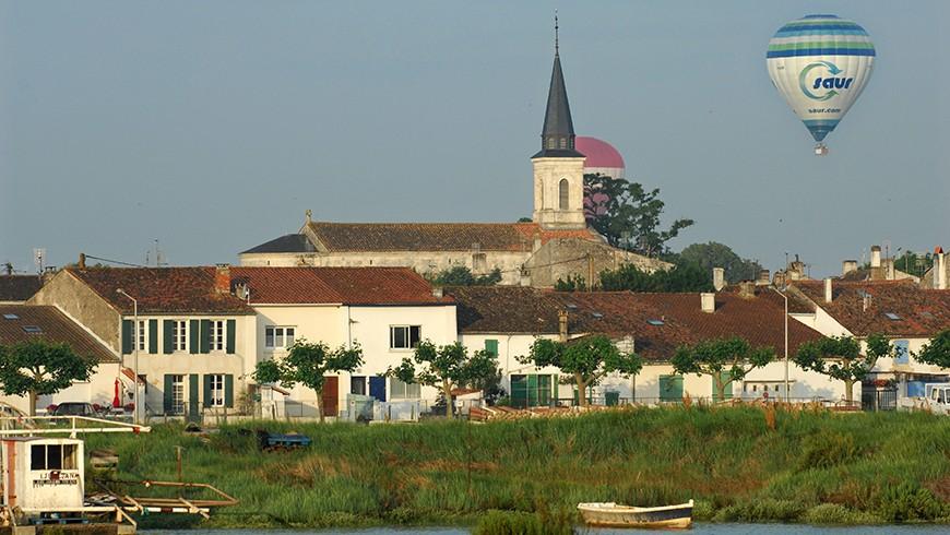 Montgolfière - Charente Maritime / © E. Mégret