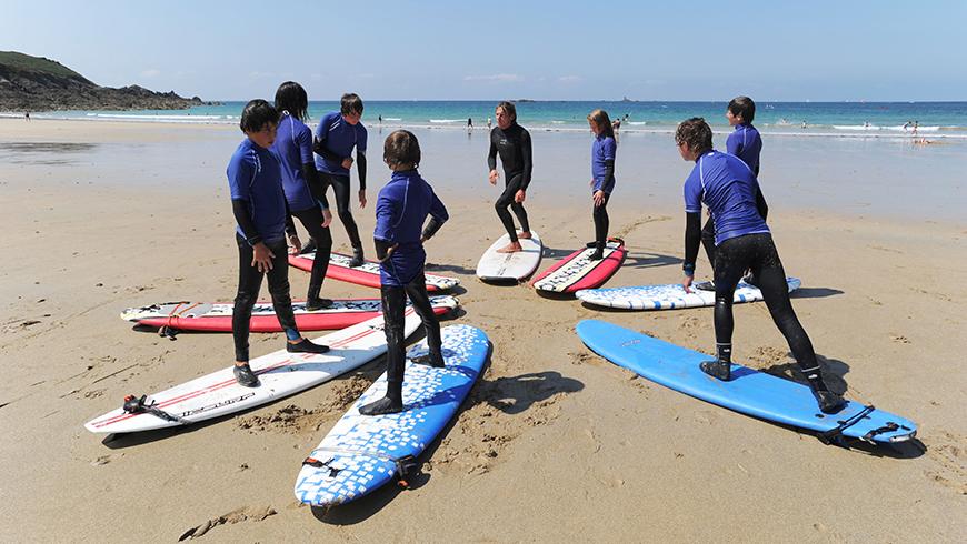 Ecole de surf - CCCE / © E. Mégret