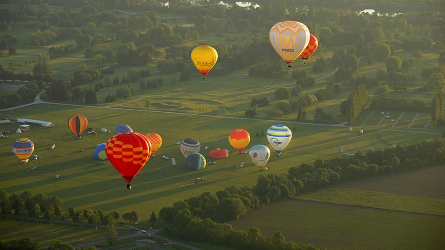 Meeting montgolfières - Annonay / © E. Mégret