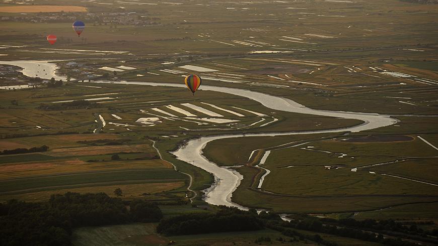 Meeting montgolfières - Royan / © E. Mégret