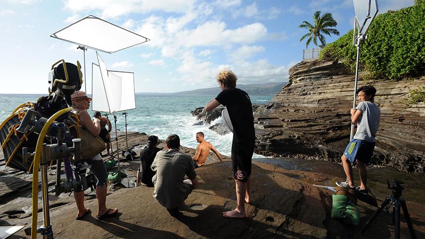 Davidoff - Cool water - Paul Walker - Hawaï / © E. Mégret