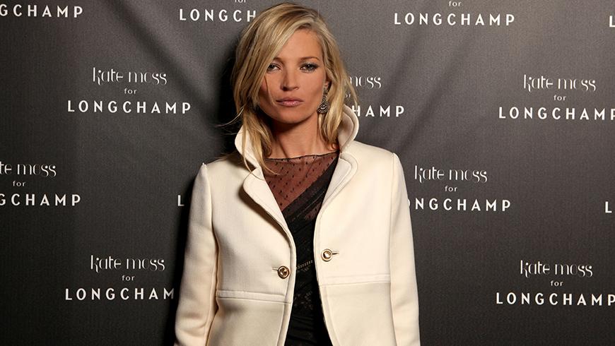 Kate Moss for Longchamp / © Y. Piriou