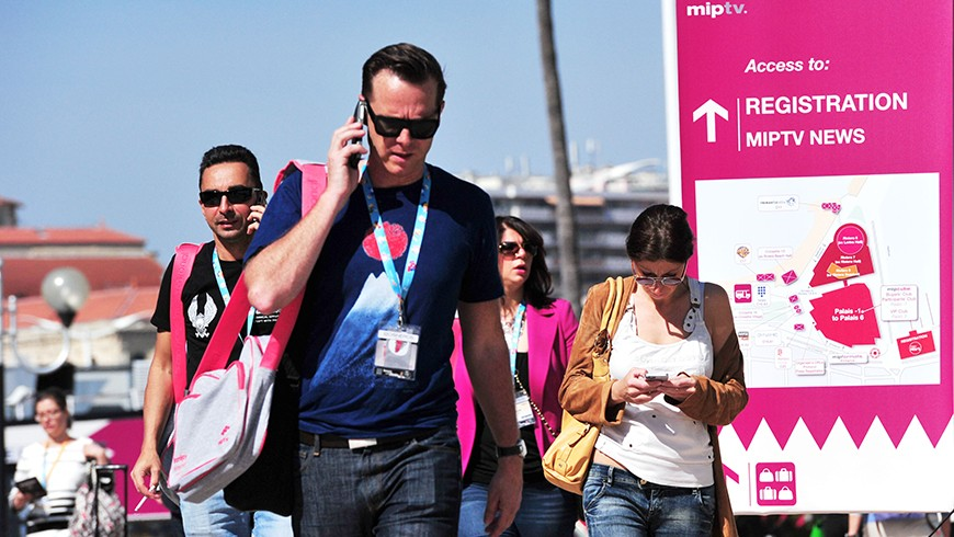 MIPTV - Cannes / © V. Desjardins